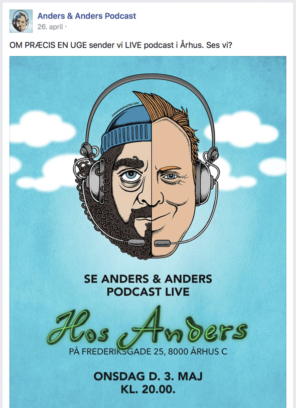 anders og anders podcast
